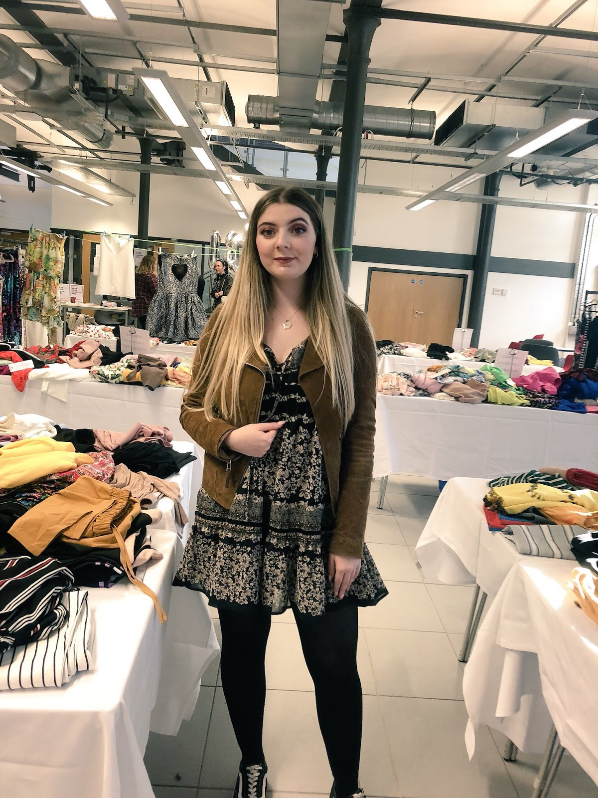 Abbey at Big Burnley Clothes Swap