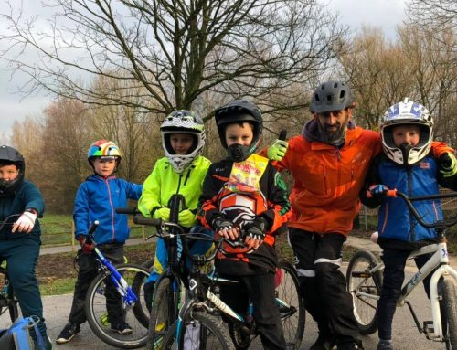 Thrills and spills of Hurstwood mountain bike trail