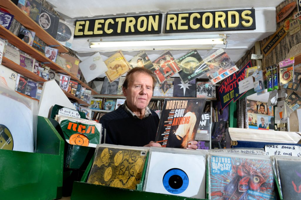 Electron Record Shop Vinyl Burnley Social