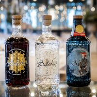 Three different gins