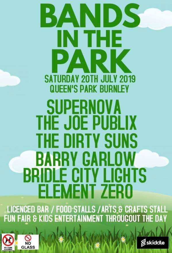 Bands in the Park programme