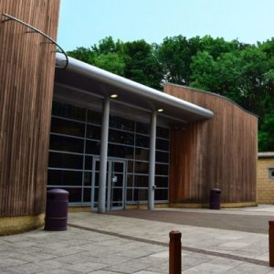Burnley Youth Theatres large entrance