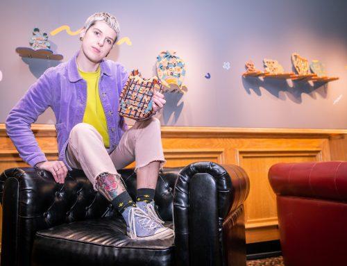 Swear down, Hannah Whitlow is shaking up Burnley's art scene