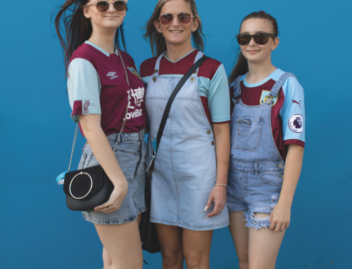 The Girl Fans of Burnley FC