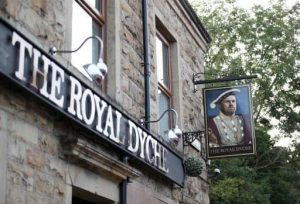 """""""The Royal Dyche"""" A Popular match day pub named after the Burnley FC manager"""