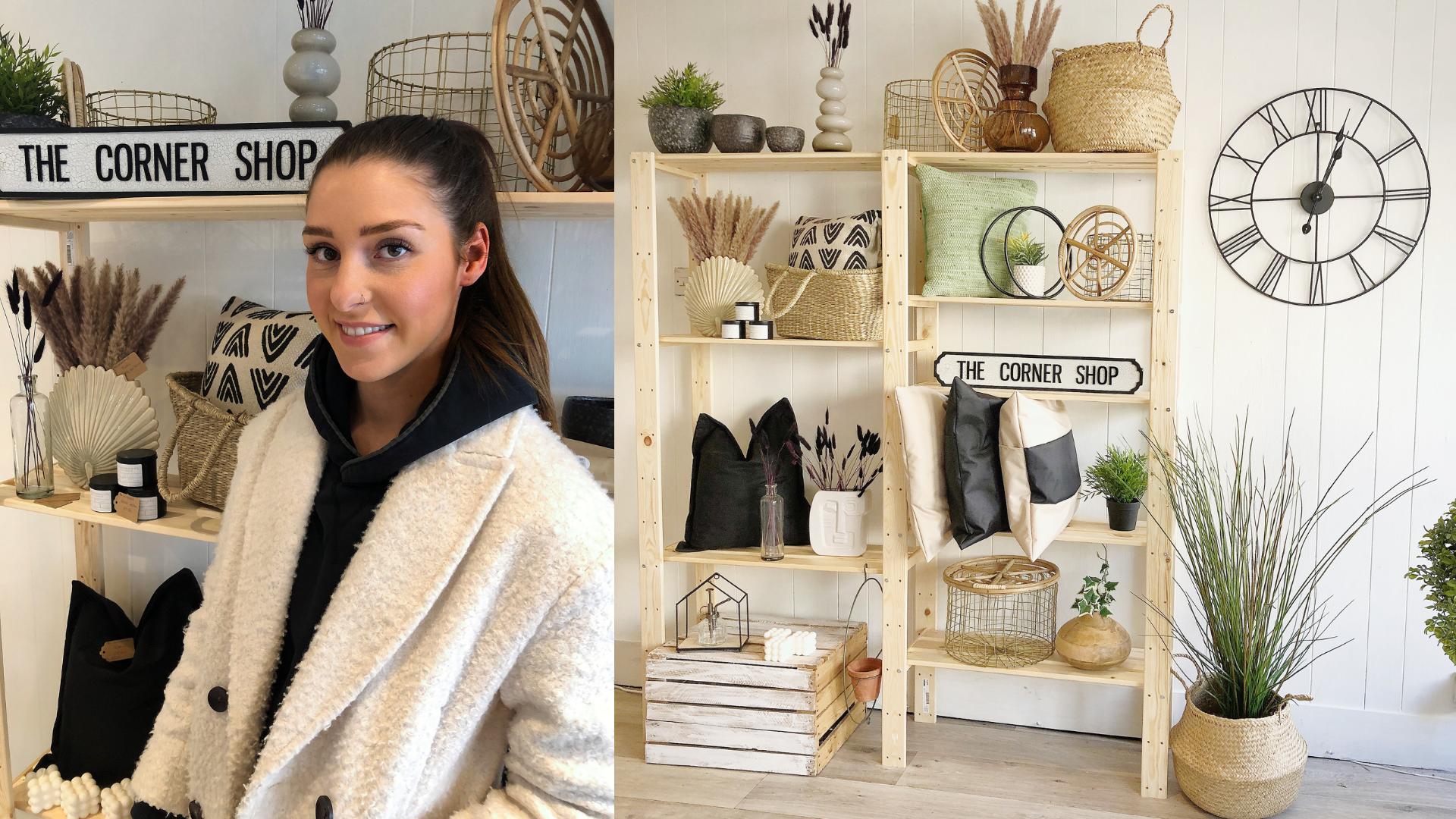 Ellie Harrop the Corner Shop UK