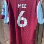 Ben Mee signed shirt