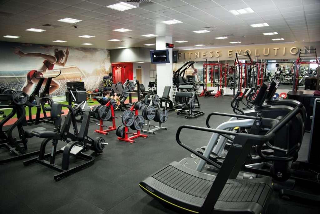 Fitness Evolution, Burnley, Interior