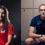 Two Burnley college elite athletes